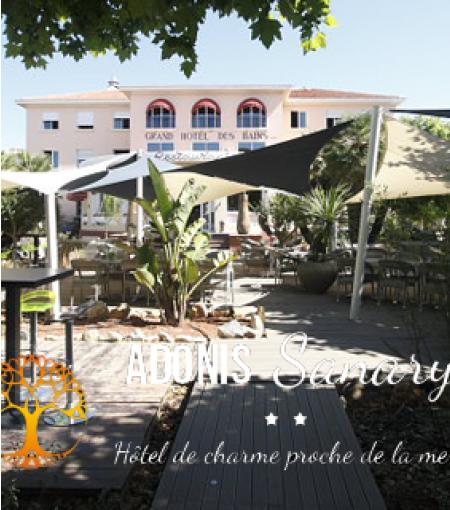 © Adonis Hôtel des Bains - Sanary