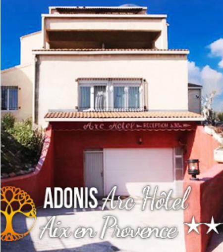 © Adonis Arc Hôtel Aix - Groupe GHB
