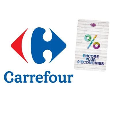 E-Carte Carrefour - 50 €
