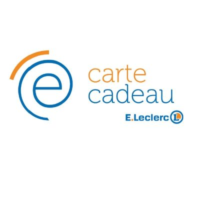 E-Carte Leclerc - 50 €