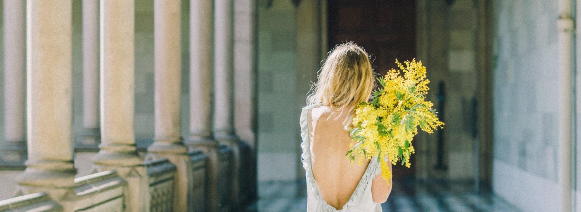 Joli mois de février et ses mimosas en fleurs...