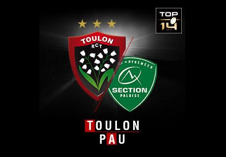 TOULON vs PAU