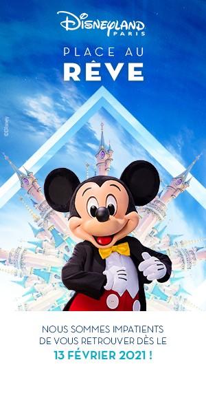 Réserver dès maintenant votre billet ! En ce moment, bénéficiez de conditions de réservation avantageuses pour votre séjour à Disneyland Paris. C'est le moment idéal pour réserver !