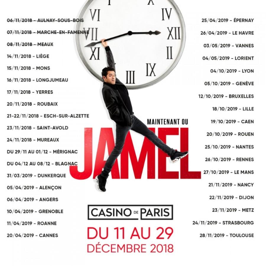 Jamel Debbouze - Nouveau spectacle 100% Jamel Debbouze
